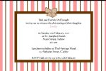 Personalised Girl Christening Invitations Design 2